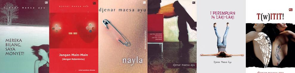 kumpulan buku Djenar Maesa Ayu